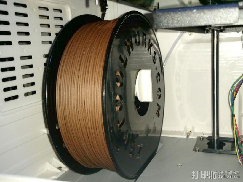 大型轴插座 3D模型  图3