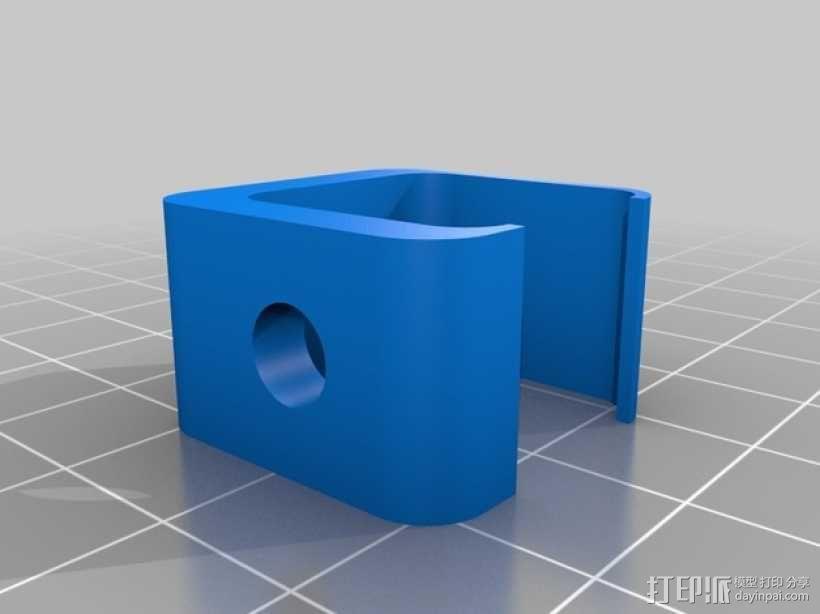 磁铁工具架 3D模型  图2