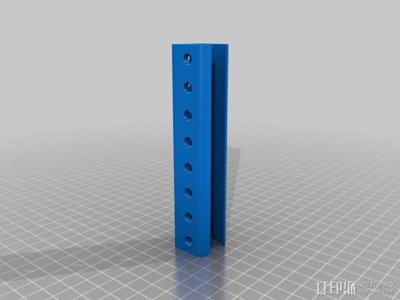磁铁工具架 3D模型  图7
