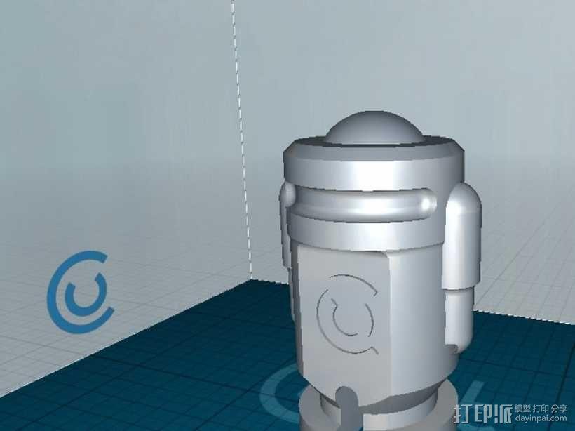 Crafty机器人 3D模型  图1