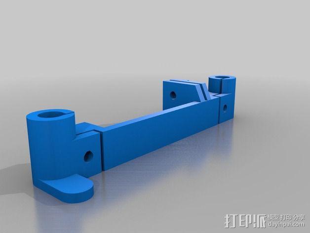 Portabee 3D 打印机Y轴部件 3D模型  图2