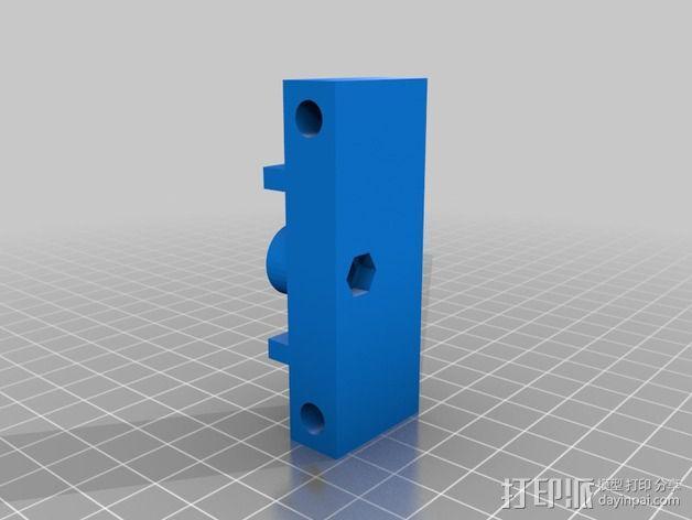 Portabee 3D 打印机Y轴部件 3D模型  图4