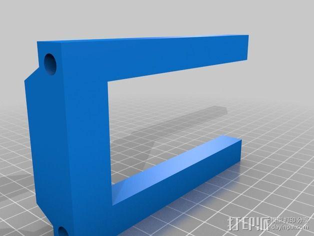 Portabee 3D 打印机Y轴部件 3D模型  图3