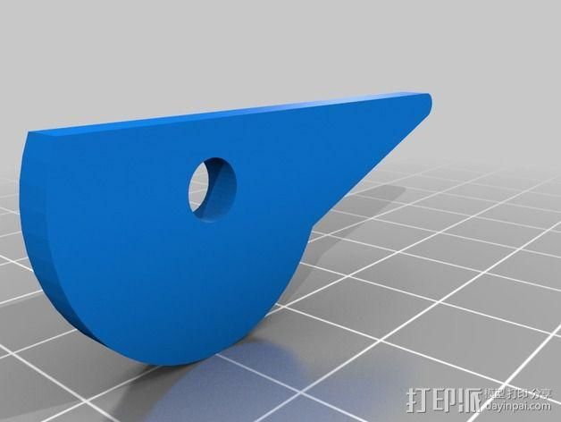 Portabee 3D 打印机Y轴部件 3D模型  图6
