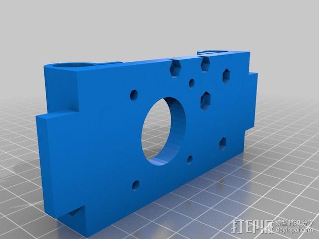 Portabee 3D 打印机Y轴部件 3D模型  图5