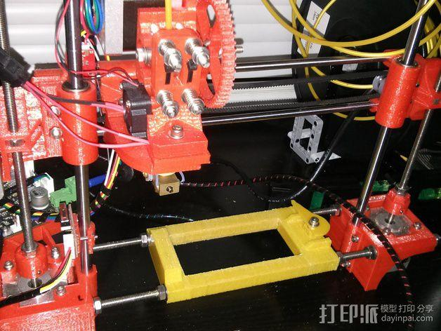 Portabee 3D 打印机Y轴部件 3D模型  图7