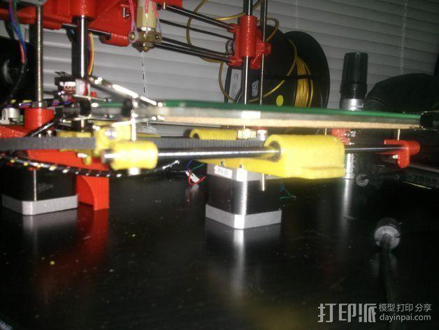 Portabee 3D 打印机Y轴部件 3D模型  图8