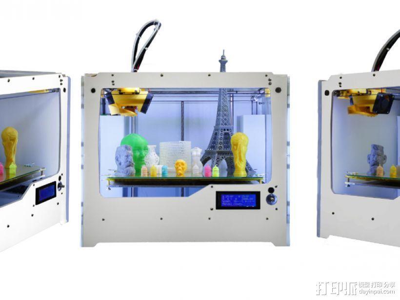 Jenny 3D打印机 3D模型  图2