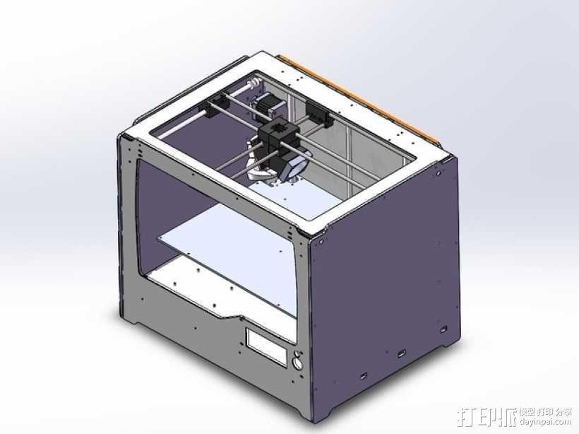 Jenny 3D打印机 3D模型  图1