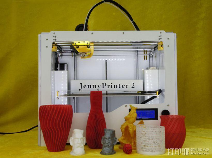 Jenny 3D打印机 3D模型  图22