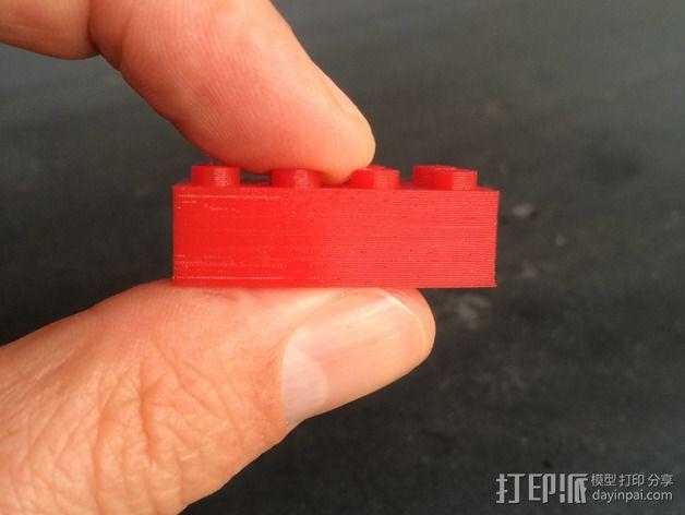 乐高积木 打印测试 3D模型  图3