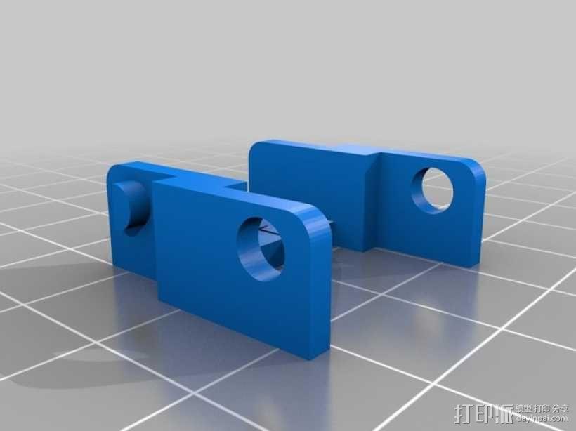 锚链 3D模型  图3