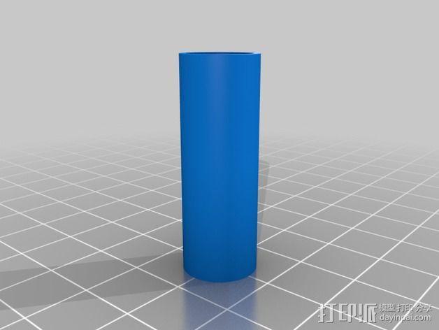 磁力球形接头 3D模型  图2
