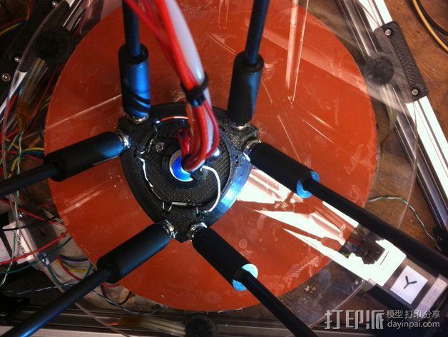 磁力球形接头 3D模型  图4