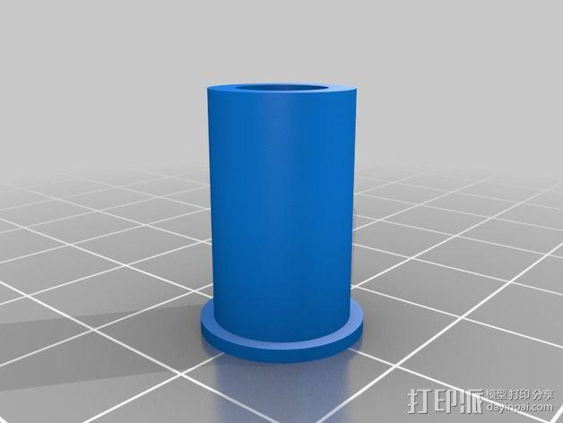 磁力球形接头 3D模型  图3