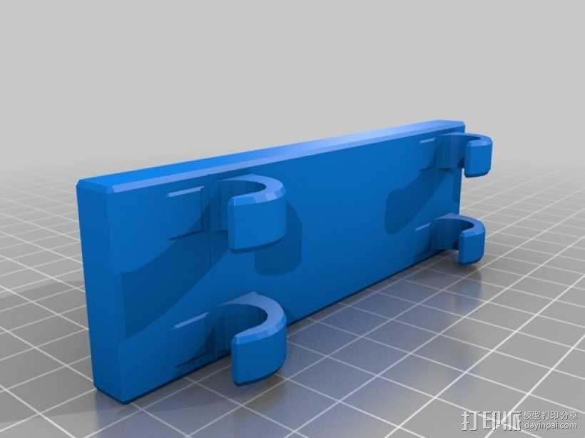 仪表盘支架 3D模型  图2
