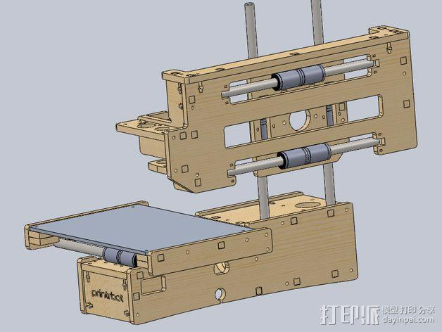Printrbot 打印机部件 3D模型  图1