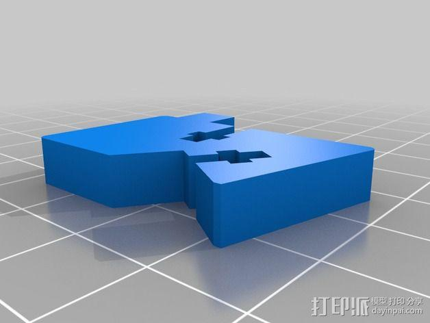Printrbot 打印机部件 3D模型  图7