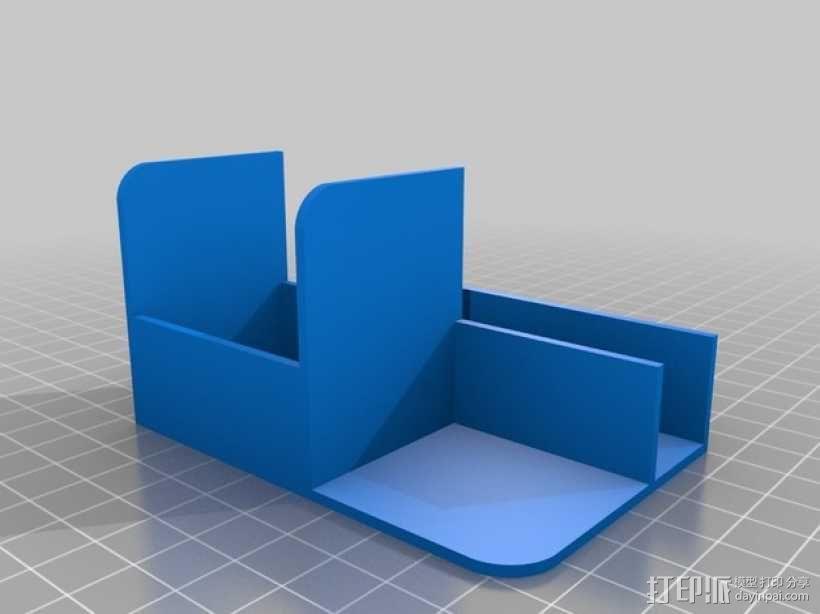 电缆保护器 插槽保护器 3D模型  图2