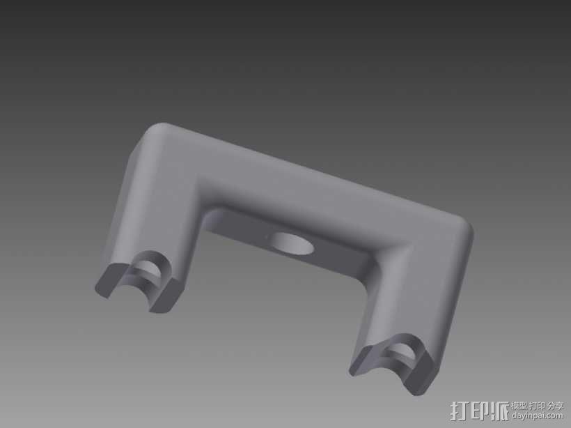RigidBot 打印机打印床调平器  3D模型  图1