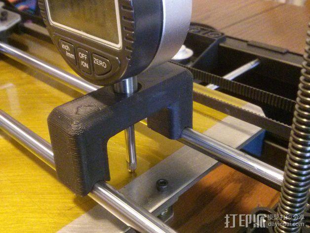 RigidBot 打印机打印床调平器  3D模型  图4
