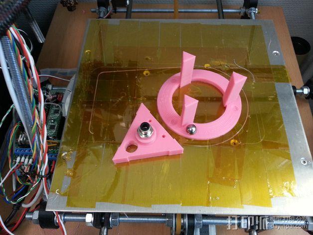 磁力耦合器 3D模型  图2
