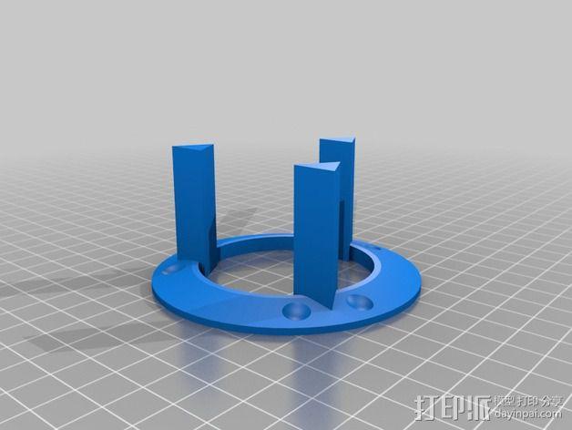 磁力耦合器 3D模型  图4