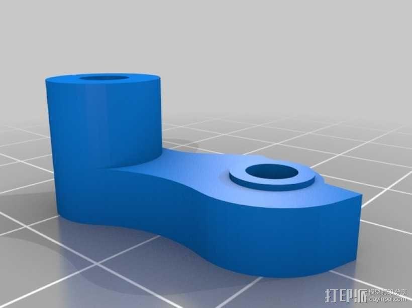 弹性挤出机 3D模型  图3