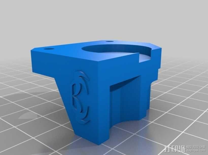 弹性挤出机 3D模型  图4