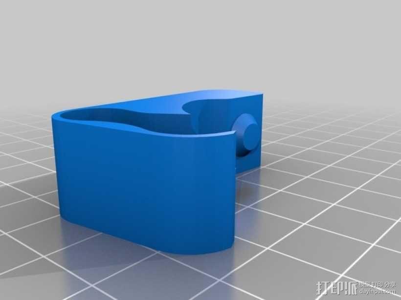弹性挤出机 3D模型  图6
