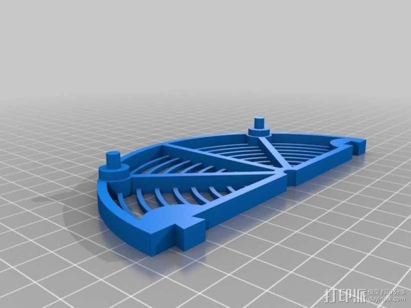 堆叠式接线架 3D模型  图2