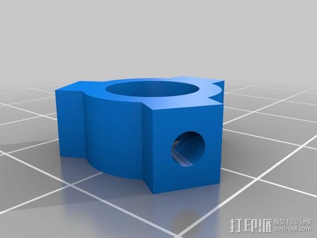 轴肩挡圈 轴环 3D模型  图4