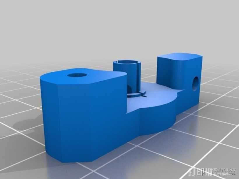 Bowden MK8 鲍登挤出机  3D模型  图1