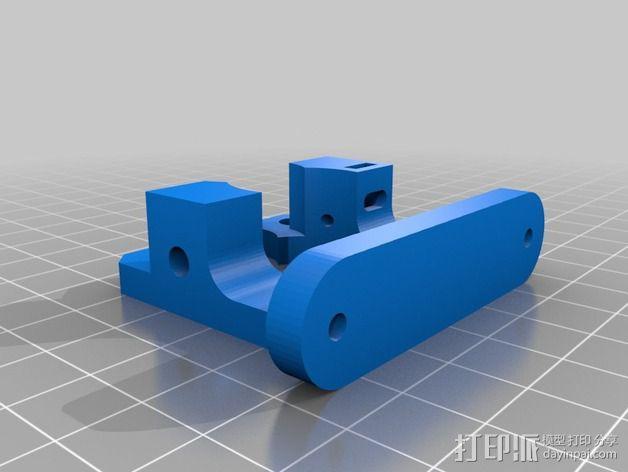 Bowden MK8 鲍登挤出机  3D模型  图2