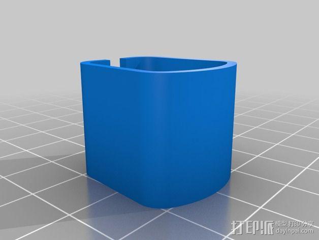 RigidBot打印机电缆夹 3D模型  图6