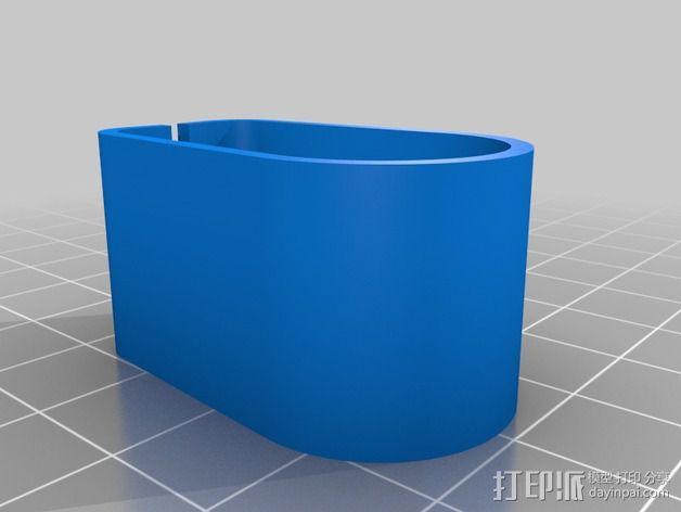RigidBot打印机电缆夹 3D模型  图5