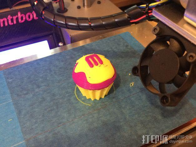Printrbot Simple打印机金属挤出机 3D模型  图4