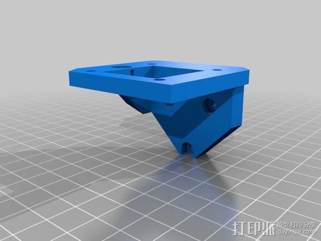 打印机Z轴马达支架 3D模型  图5