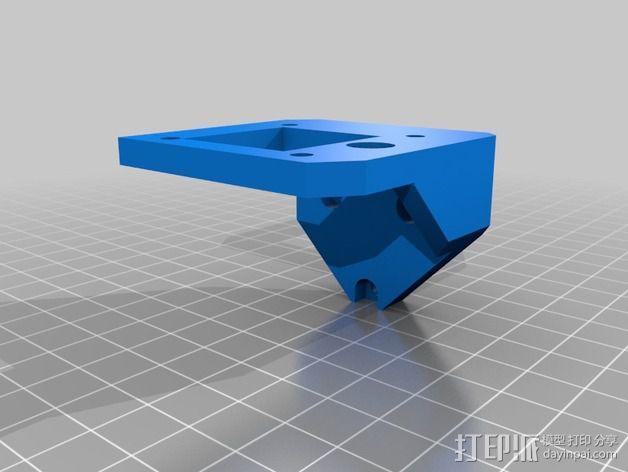 打印机Z轴马达支架 3D模型  图4