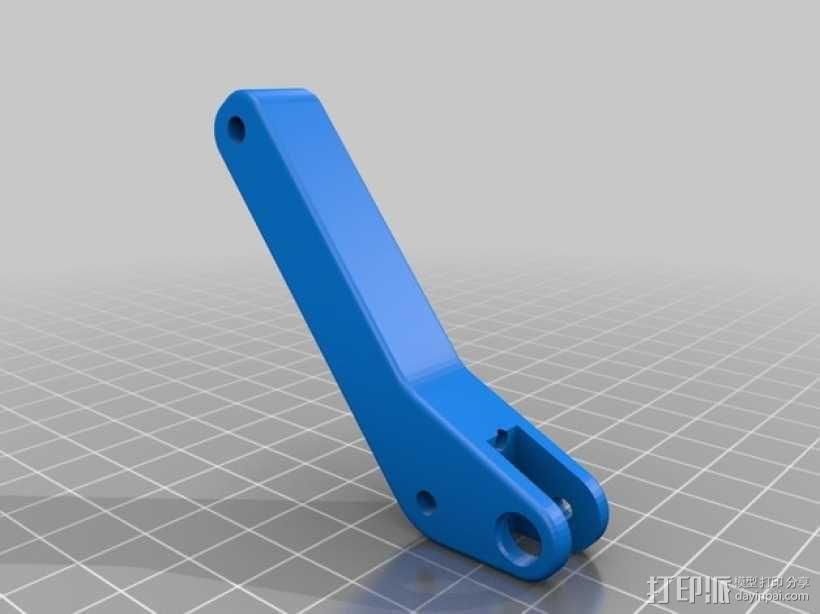 弹簧受压式双挤出机 3D模型  图9
