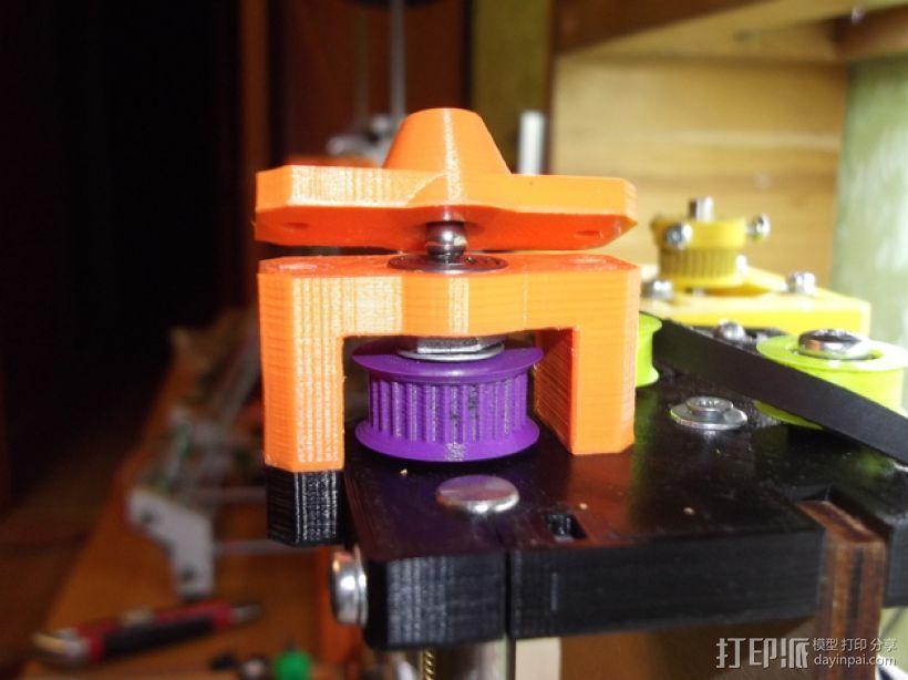 prusa i3打印机Z轴马达 3D模型  图1