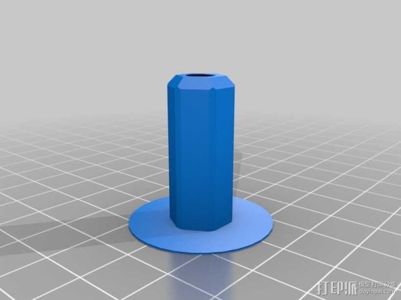 prusa i3打印机Z轴马达 3D模型  图6