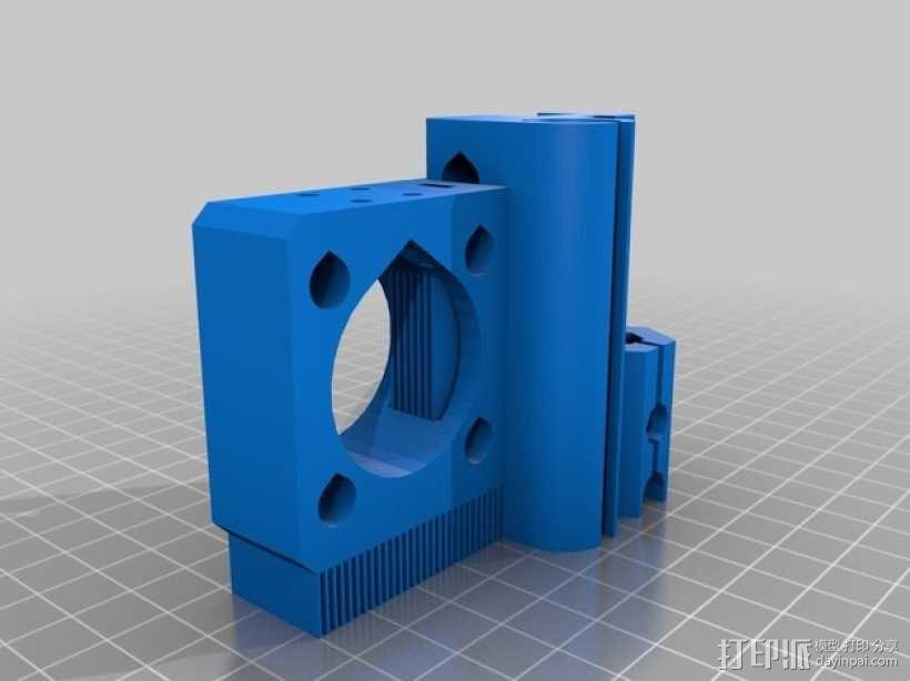 prusa i3打印机Z轴马达 3D模型  图10