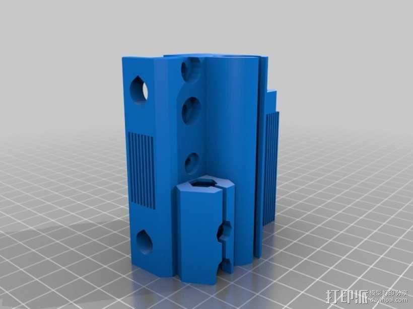 prusa i3打印机Z轴马达 3D模型  图9
