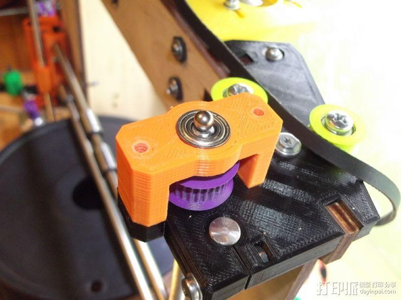 prusa i3打印机Z轴马达 3D模型  图14