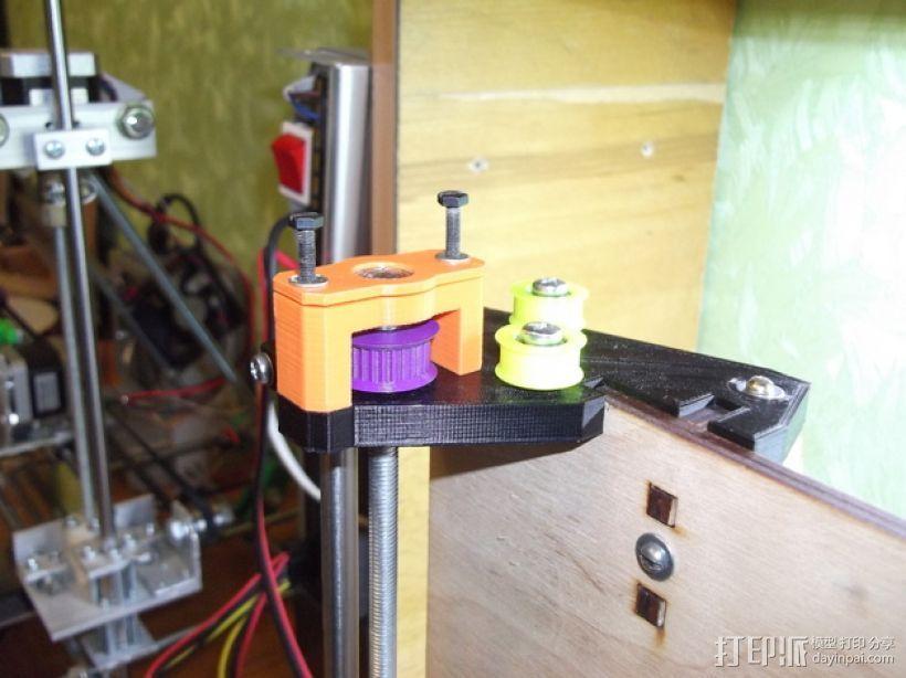prusa i3打印机Z轴马达 3D模型  图17