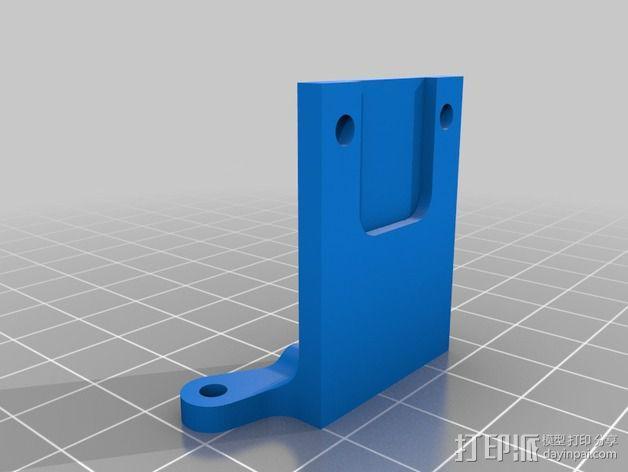 Z轴限位开关 3D模型  图2