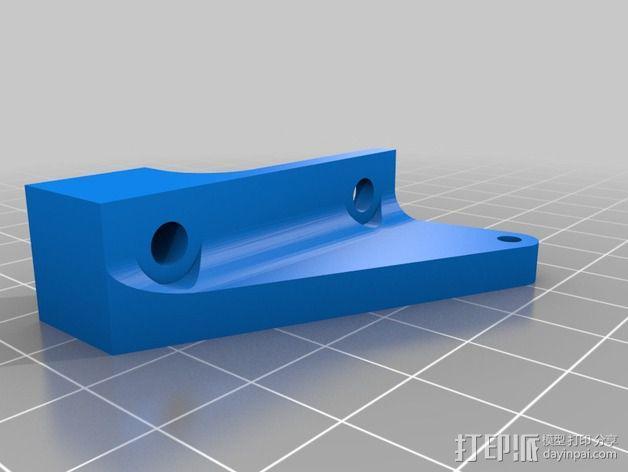 Z轴限位开关 3D模型  图3