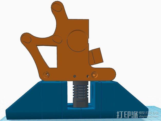 greg wade挤出机风扇支架 3D模型  图5