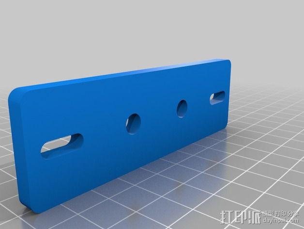 BPS 挤出机适配器 3D模型  图3